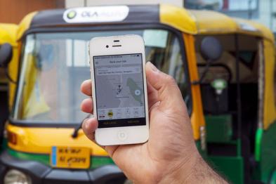 印度打车应用Ola融资20亿美元,软银腾讯领投