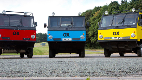 OX多功能组合式卡车