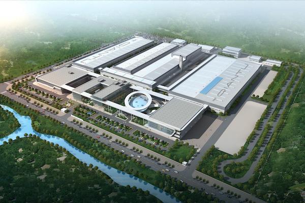 前途汽车苏州生产基地建成鸟瞰图