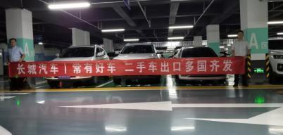 长城汽车已完成首单二手车出口业务