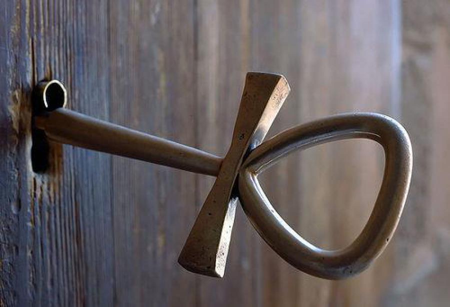 据说世界上第一把钥匙是埃及人发明的