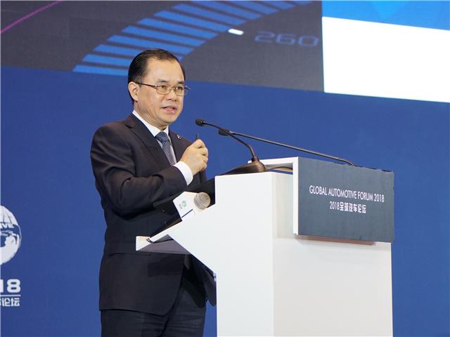 长安汽车总裁朱华荣
