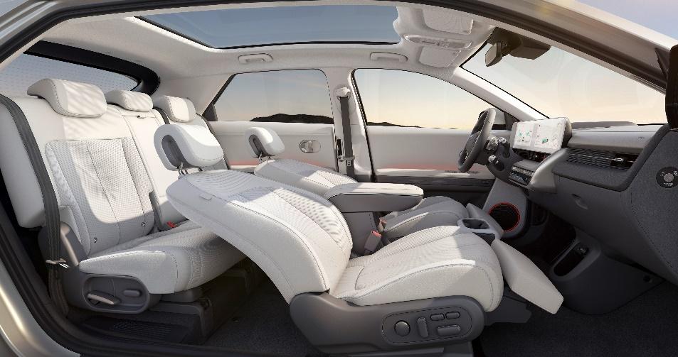 IONIQ(艾尼氪) 5拥有宽敞舒适可定制的车内空间