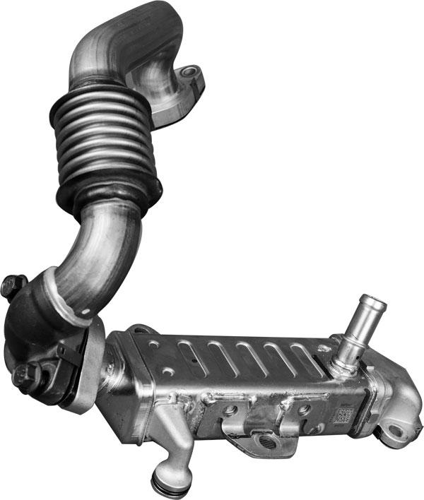 带独立冷却系统的EGR管道