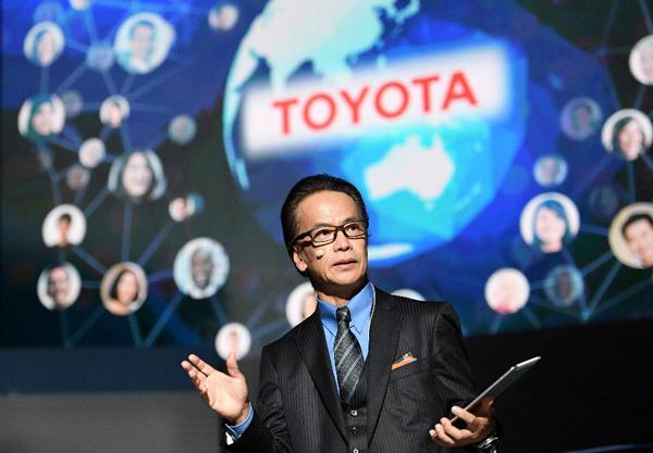 """丰田新成立的""""互联汽车公司""""总裁友山茂树"""