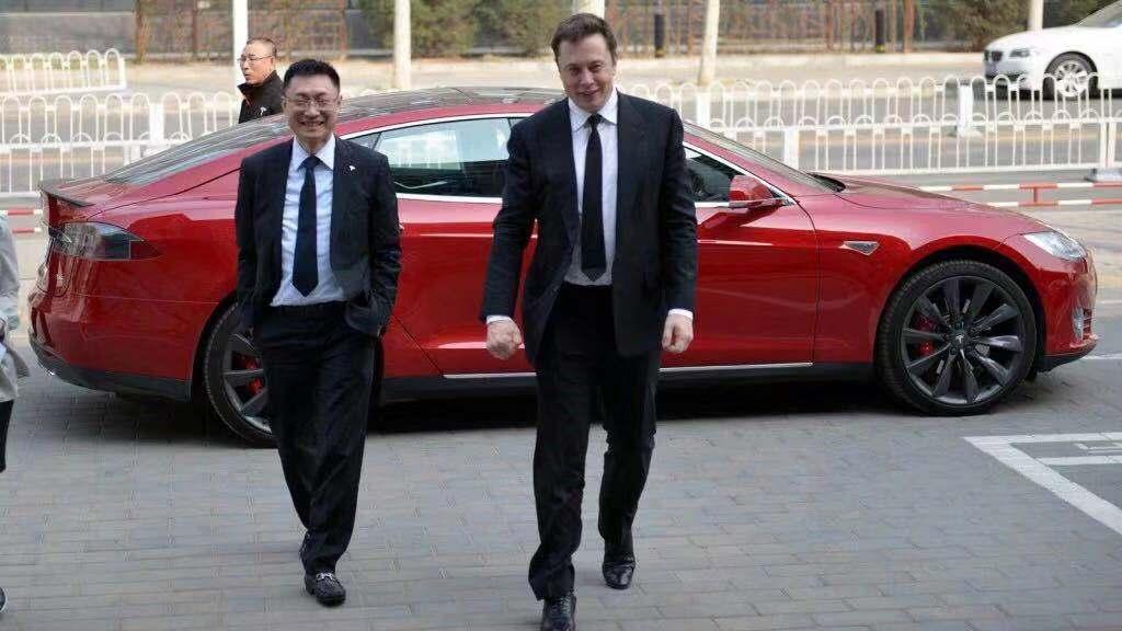 特斯拉全球副总裁和大中华区总裁