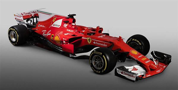 法拉利2017赛季新车SF-70