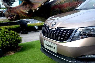 售价10.99—13.09万,斯柯达全新SUV柯米克上市
