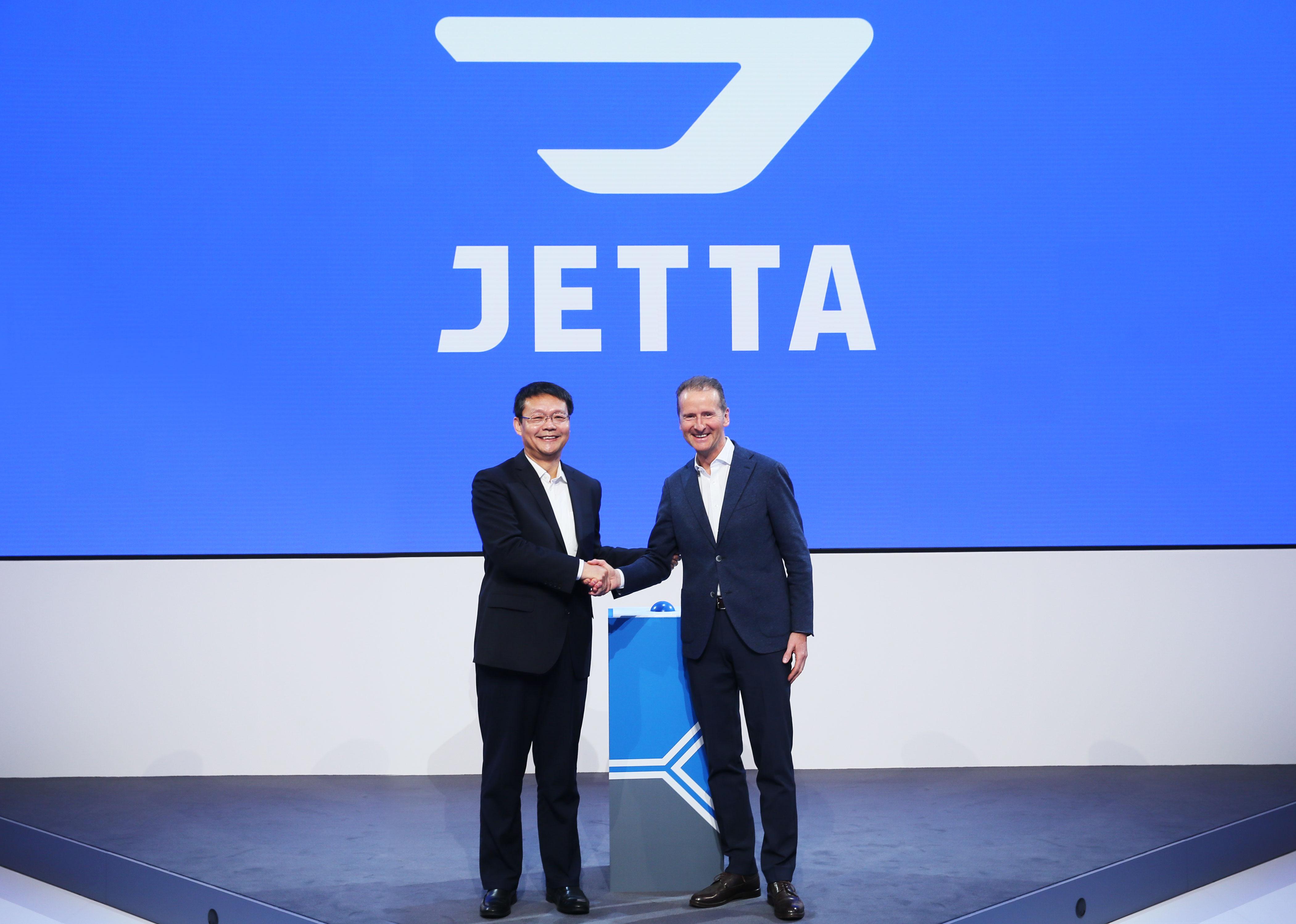 一汽集团有限公司党委副书记、副总经理秦焕明先生,及大众汽车董事会主席迪斯博士