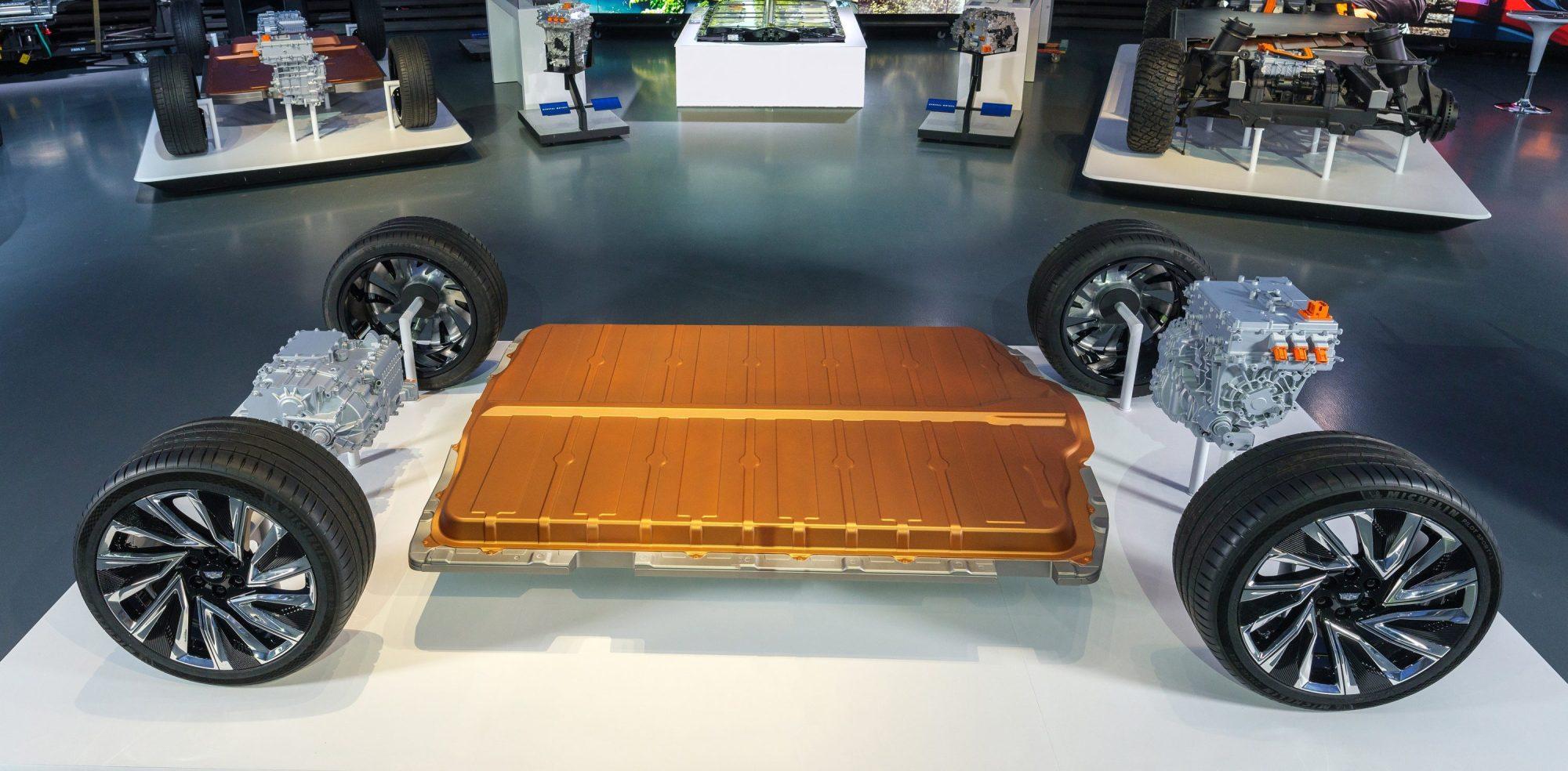 通用汽车发布全新Ultium电池系统