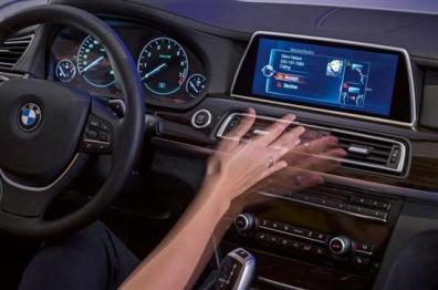 德尔福推手势控制系统,可监测司机与乘员