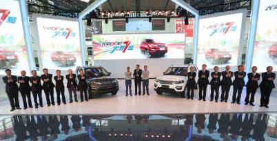 长安CX70上市,售6.89万-8.49万