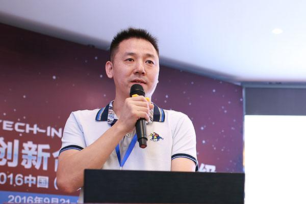 评驾科技创始人 李献坤