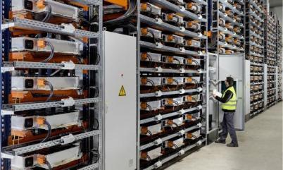 宝马回收利用电动车电池用于驱动工厂生产