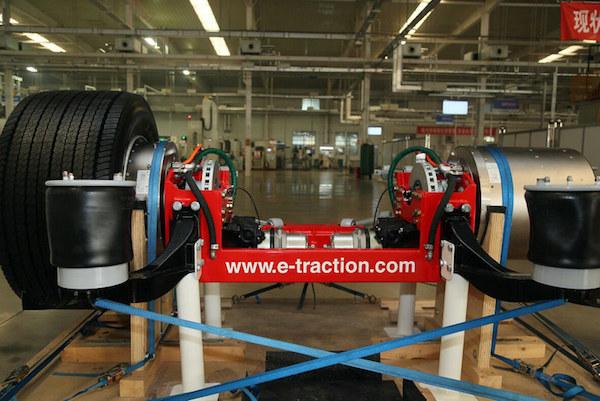 泰特轮毂电机驱动解决方案
