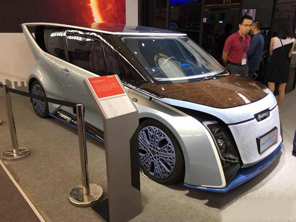 汉能solar a太阳能电动车