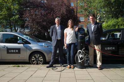 联手日产和比亚迪,Uber将在英国引入电动车服务