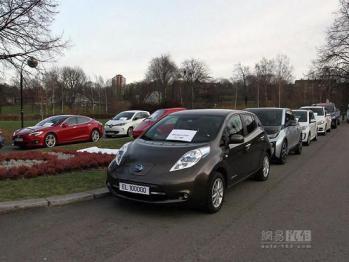 挪威电动汽车再创记录,市场份额高达37%