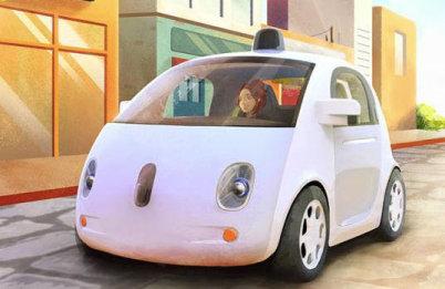 当坐上谷歌无人驾驶汽车,他们的世界亮了