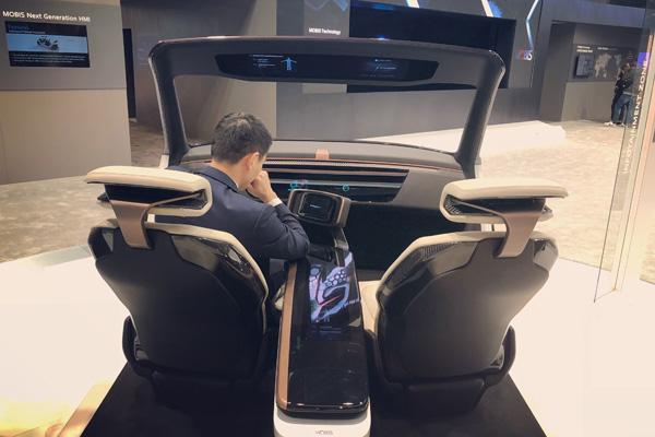 现代MOBIS驾驶舱