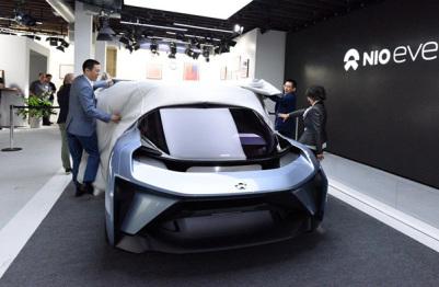 蔚来发布自动驾驶概念车,但你可能更关心他的量产车一个月后也要亮相了