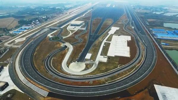 福特南京测试中心俯瞰图