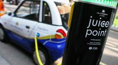 推便捷刷卡,英国要解决电动车充电难题