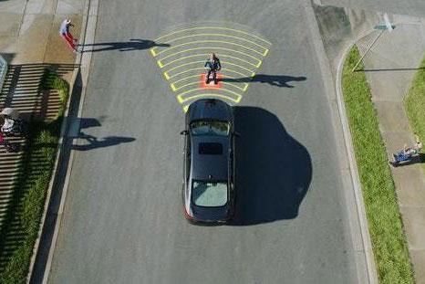 福特发布夜视版行人探测系统