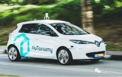 NuTonomy开动了首辆无人驾驶出租车,可你知道他多有后台吗?