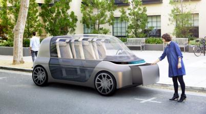 关于未来汽车内部设计,这是比大众概念车Sedric更极致的答案