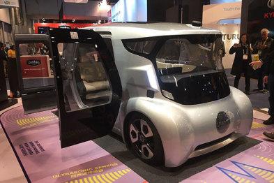 CES2017 驭势科技发布无人驾驶电动车