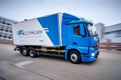 戴姆勒将测试电动重型卡车eActros,三年内上市