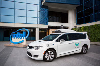 Waymo联合英特尔自主开发自动驾驶计算平台