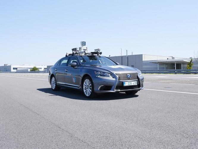 自动驾驶,丰田自动驾驶,丰田欧洲自动驾驶,丰田测试自动驾驶,雷克萨斯LS自动驾驶,汽车新技术