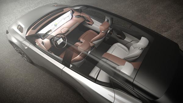 BYTON Concept 搭载车顶隐藏式天线