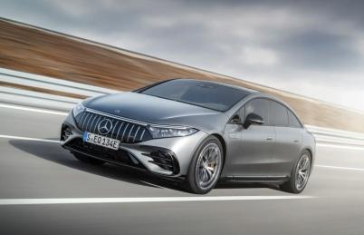 2021 IAA丨奔驰AMG EQS电动轿车来了:功率750马力,零百加速3.4S