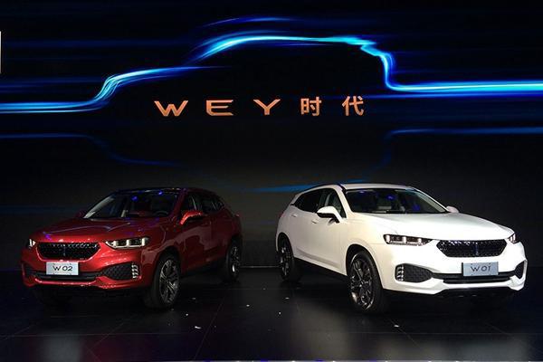 网上车市从长城汽车官方了解到:wey vv7c的插电混动版-wey pi4 vv7c将