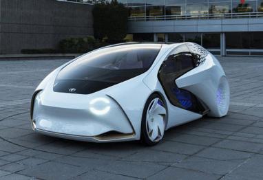 丰田全新概念车专利图,可实现自动驾驶