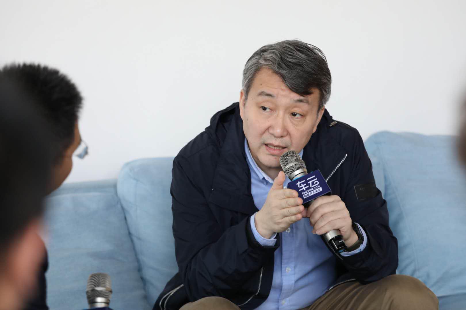 北汽集?#21028;录?#26415;研究院副院长荣辉