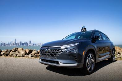现代投资Aurora合研自动驾驶汽车