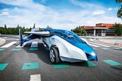 1分钟起飞的炫酷飞行汽车,2016年上市