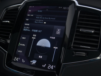 """虽然还不支持CarPlay,沃尔沃Sensus系统直接将""""苹果""""搬上了车"""
