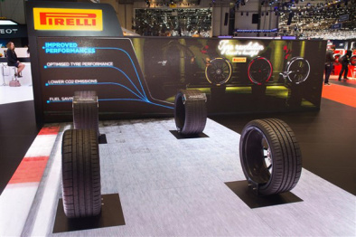 轮胎也玩黑科技,倍耐力的轮胎不仅能涂装还能实现智能监控