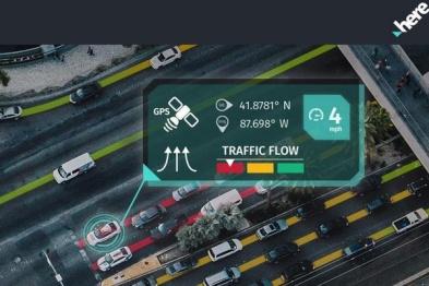 HERE推出新版实时交通服务,助力ADAS及自动驾驶