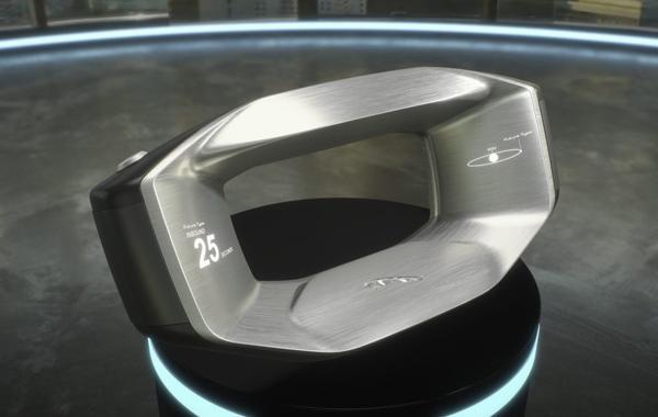 捷豹发布「Sayer智能方向盘」概念设计