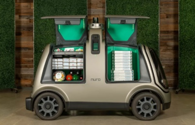 达美乐与Nuro合作使用无人驾驶车辆交付外卖