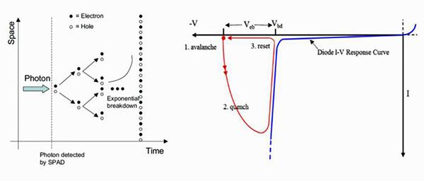 图11:SPAD 传感器单元的原理