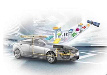 大陆集团为汽车中的各种电子控制单元提供无线功能更新升级