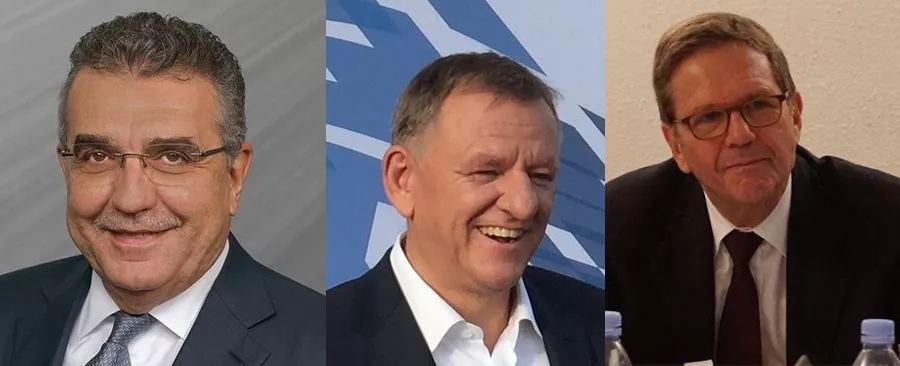 从左至右:Francisco,Andreas Renschler,海兹曼