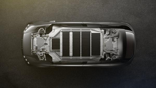 拜腾车型的电池系统